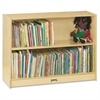 "Jonti-Craft Adjustable Shelves Classroom Bookcases - 3 Compartment(s) - 36"" Height x 36.5"" Width x 12"" Depth - Wall Mountable - Wood Grain - Baltic Birch Plywood - 1Each"