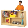 "Kydz Low Adjustable Bookcase - 2 Compartment(s) - 29.5"" Height x 48"" Width x 15"" Depth - Floor - Wood Grain - Baltic Birch Plywood - 1Each"