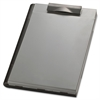 "OIC Form Holder - 0.75"" Clip Capacity - Top Opening - 9"" x 12"" - Plastic - Silver"