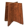 "Lorell Essentials Table Base - 24"" x 48"" x 29"" - Material: Wood - Finish: Cherry, Laminate"