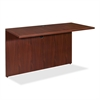 "Lorell Essentials Bridge - 47.3"" x 23.6"" x 29.5"" - Finish: Laminate, Mahogany"