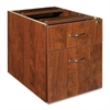 "Lorell Essentials Pedestal - 15.5"" x 21.9"" x 18.9"" - 2 x Box Drawer(s), File Drawer(s) - Double Pedestal - Finish: Cherry, Laminate"