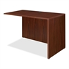 "Lorell Essentials Return Shell - 35.6"" x 23.6"" x 29.5"" - Finish: Laminate, Mahogany"
