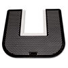 Deodorizing Commode Mat - Restroom - Black