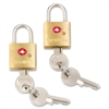 Samsonite Brass Key Lock - Brass - Brass