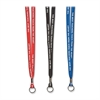 "SICURIX Best Teachers Inspirational Lanyard - 1 Each - 36"" Length - Assorted"