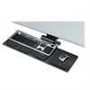 "Fellowes Professional Series Compact Keyboard Tray - 5.8"" Height x 27.5"" Width x 21.2"" Depth - Black"