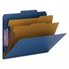 "Smead PressGuard® Classification Folders with SafeSHIELD® Coated Fastener Technology - Letter - 8 1/2"" x 11"" Sheet Size - 2"" Expansion - 6 Fastener(s) - 2"" Fastener Capacity for Folder, 1"" Fas"