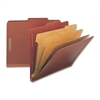 "Nature Saver Legal Size Exp. Classificatn Folders - Legal - 8 1/2"" x 14"" Sheet Size - 8 Fastener(s) - 2"" Fastener Capacity for Folder, 1"" Fastener Capacity for Divider - 3 Divider(s) - 25 pt. Folder T"