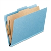 "4-Part Classification Folder - Letter - 8 1/2"" x 11"" Sheet Size - 4 Fastener(s) - 1"" Fastener Capacity for Folder - 2/5 Tab Cut - Right of Center Tab Location - 25 pt. Folder Thickness - Pre"
