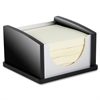 Kantek Memo Pad Holder - Aluminum, Acrylic - 1 / Each - Aluminum