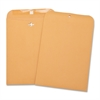 "Business Source Heavy-duty Clasp Envelopes - Clasp - #68 - 7"" Width x 10"" Length - 28 lb - Clasp - Kraft - 100 / Box - Brown Kraft"