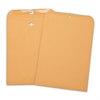 "Business Source Heavy-duty Clasp Envelopes - Clasp - 8.75"" Width x 11.50"" Length - 28 lb - Clasp - Kraft - 100 / Box - Brown Kraft"