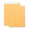 "Business Source Catalog Envelope - Catalog - 10"" Width x 13"" Length - 28 lb - Self-sealing - Kraft - 250 / Box - Brown Kraft"