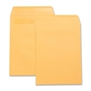 "Business Source Press-To-Seal Catalog Envelopes - Catalog - 9"" Width x 12"" Length - 28 lb - Self-sealing - Kraft - 100 / Box - Brown Kraft"