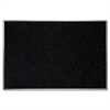 "Ghent Recycled Rubber Bulletin Board - Confetti - 24"" Height x 36"" Width - Rubber Surface - Aluminum Frame - 1 Each"