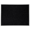"Ghent Recycled Rubber Bulletin Board - Confetti - 36"" Height x 48"" Width - Rubber Surface - Aluminum Frame - 1 Each"