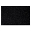 "Ghent Recycled Rubber Bulletin Board - Confetti - 48"" Height x 72"" Width - Rubber Surface - Aluminum Frame - 1 Each"