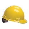MSA V-Gard Staz-On Cap - Polyethylene - Yellow - 1 Each