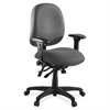 "Lorell High Performance Task Chair - Gray Seat - Metal Frame - 5-star Base - Gray - 20"" Seat Width x 20"" Seat Depth - 27.3"" Width x 25.3"" Depth x 41.5"" Height"