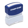 "Pre-inked Stamp - Message Stamp - ""PAID"" - 0.56"" Impression Width x 1.69"" Impression Length - 50000 Impression(s) - Red - 1 Each"