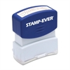 "U.S. Stamp & Sign Pre-inked Stamp - Message Stamp - ""POSTED"" - 0.56"" Impression Width x 1.69"" Impression Length - 50000 Impression(s) - Red - 1 Each"