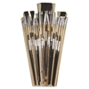 ChenilleKraft Colossal Crafts Value Brush Assrtmt - 1 Brush(es) - Aluminum Ferrule - Assorted
