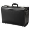 "Samsonite Carrying Case for File Folder - Black - Polyethylene - Handle - 20"" Height x 14"" Width x 9"" Depth"