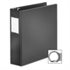 "Cardinal BasicSelect Round Ring Binder - 3"" Binder Capacity - Letter - 8 1/2"" x 11"" Sheet Size - 625 Sheet Capacity - 1 1/2"" Spine Width - 3 x Round Ring Fastener(s) - 2 Inside Front & Back Pocket(s)"