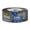 "Scotch Tough No Residue Duct Tape - 1.88"" Width x 60 ft Length - 3"" Core - 1 Roll - Silver"
