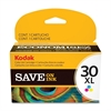 Kodak No. 30XL Original Ink Cartridge - Inkjet - 550 Pages - Color - 1 Each