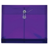 """Side-Load Poly Ultracolor Envelopes - Letter - 8 1/2"""" x 11"""" Sheet Size - 1 1/4"""" Expansion - Polypropylene - Purple - 5 / Pack"""