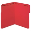 "Pendaflex Fastener Folder - Letter - 8 1/2"" x 11"" Sheet Size - 3/4"" Expansion - 2 Fastener(s) - 2"" Fastener Capacity for Folder - 1/3 Tab Cut - Top Tab Location - 11 pt. Folder Thickness - Red - 50 /"