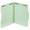 "Pendaflex Green Pressboard Fastener Folders - Letter - 8 1/2"" x 11"" Sheet Size - 1"" Expansion - 2 Fastener(s) - 2"" Fastener Capacity - 1/3 Tab Cut - Assorted Position Tab Location - 25 pt. Folder Thic"