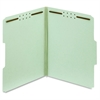 "Pendaflex Green Pressboard Fastener Folders - Letter - 8 1/2"" x 11"" Sheet Size - 2"" Expansion - 2 Fastener(s) - 2"" Fastener Capacity - 1/3 Tab Cut - Assorted Position Tab Location - 25 pt. Folder Thic"
