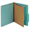 "Pendaflex 1-Divider Pressbrd Classifictn Folders - Letter - 8 1/2"" x 11"" Sheet Size - 1 3/4"" Expansion - 4 Fastener(s) - 2"" Fastener Capacity, 1"" Fastener Capacity for Divider - 2/5 Tab Cut - Top Tab"