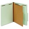 """Pendaflex 1-Divider Pressbrd Classifictn Folders - Letter - 8 1/2"""" x 11"""" Sheet Size - 2"""" Expansion - 4 Fastener(s) - 2"""" Fastener Capacity - 2/5 Tab Cut - Right Tab Location - 1 Divider(s) - 25 pt. Fol"""