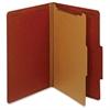 "Pendaflex 100% Recycled Classification Folder - Legal - 8 1/2"" x 14"" Sheet Size - 1 3/4"" Expansion - 2 Fastener(s) - 2"" Fastener Capacity - 2/5 Tab Cut - Right Tab Location - 1 Divider(s) - 25 pt. Fol"