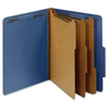 "Pendaflex 3-Divider Classification Folders - Letter - 8 1/2"" x 11"" Sheet Size - 3 1/2"" Expansion - 5 Fastener(s) - 2"" Fastener Capacity for Folder, 1"" Fastener Capacity for Divider - 2/5 Tab Cut - Rig"