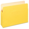 "Pendaflex 3-1/2"" Expansion Colored File Pockets - Letter - 8 1/2"" x 11"" Sheet Size - 875 Sheet Capacity - 3 1/2"" Expansion - Top Tab Location - Tyvek, Card Stock - Yellow - 1 / Each"
