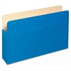 "Pendaflex Colored File Pocket - Legal - 8 1/2"" x 14"" Sheet Size - 875 Sheet Capacity - 3 1/2"" Expansion - Top Tab Location - Tyvek, Card Stock - Blue - 1 Each"