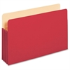 "Pendaflex 3-1/2"" Expansion Colored File Pockets - Legal - 8 1/2"" x 14"" Sheet Size - 875 Sheet Capacity - 3 1/2"" Expansion - Top Tab Location - Tyvek, Card Stock - Red - 1 Each"