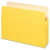 "Pendaflex 5-1/4"" Capacity Expanding File Pockets - Letter - 8 1/2"" x 11"" Sheet Size - 1100 Sheet Capacity - 5 1/4"" Expansion - Top Tab Location - Tyvek, Card Stock - Yellow - 1 Each"