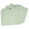 Pendaflex Recycled Monthly Indexed Top Tab Guides - 12 Tab(s) - 3 Tab(s)/Set - Gray, Green Divider - Pressboard Tab(s) - 12 / Set