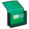"UltraColor Expanding Wallet - Letter - 8 1/2"" x 11"" Sheet Size - 800 Sheet Capacity - 3 1/2"" Expansion - 2 Front Pocket(s) - Polypropylene - Green - 1 Each"