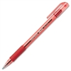 Paper Mate InkJoy 300 Ballpoint Stick Pen - Medium Point Type - 1 mm Point Size - Point Point Style - Refillable - Red - Translucent Barrel - 1 Dozen