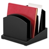 Victor Midnight Black Coll Incline File Sorter - Desktop - Black - Wood - 1Each