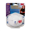 3M Odor Relief Respirator - Particulate, Odor Protection - White - 1 / Pack
