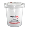 Ballast Recycling Pail - 66 lb - 5 gal - White, Red - For Lamp Recycling - 1 Each