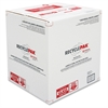 Recycling Box - White, Red - For Lamp Recycling - Recycled - 1 Each